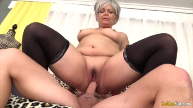 Golden Slut - Older Hotties Need a Good Railing Compilation KeezMovies blonde