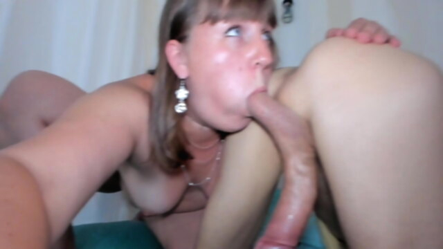 Caught My Chubby Stepsister Milking My Friend's Big Cock KeezMovies blowjob
