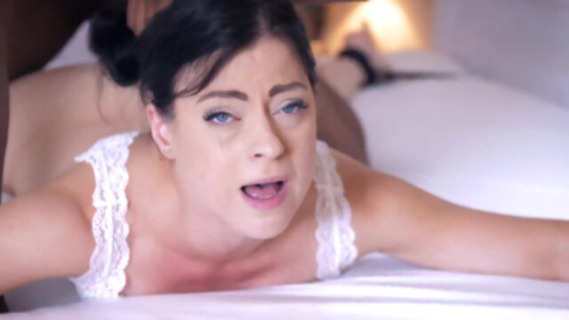 Ass fucked slave on bed KeezMovies anal