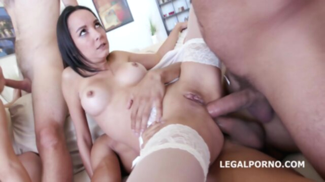 LegalPorno - Double Addicted Francys Belle Ginger Fox D KeezMovies anal