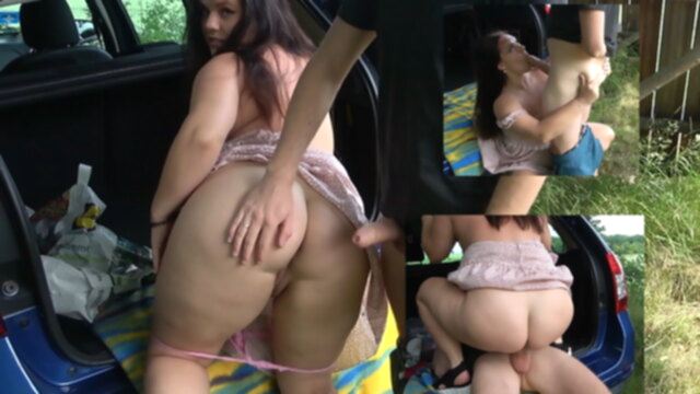 German amateur tests new car with hard fuck KeezMovies amateur