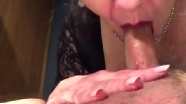 GILF Mistress with the Bottomless Throat (BWC Sloppy) KeezMovies blowjob