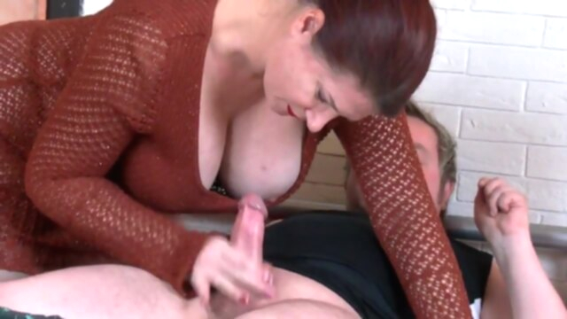 Busty British MILF Angel with cum covered tits KeezMovies amateur